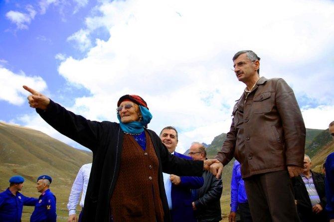 Rize Valisi Erdoğan Bektaş, Yayla Yollarında Yapılan Çalışmaları İnceledi
