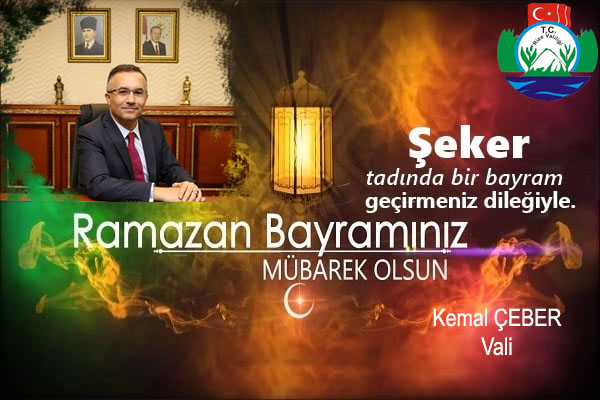 Rize Valisi Kemel Çeber'den Bayram Mesajı