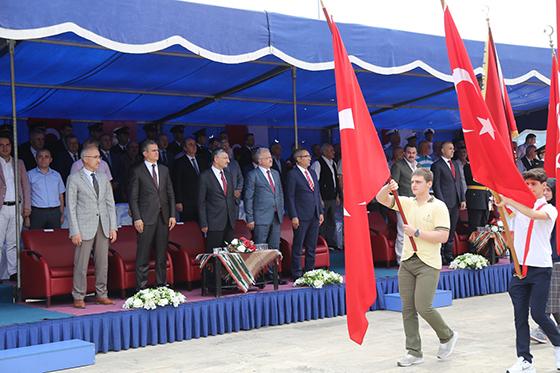 Rize'de 30 Ağustos Zafer Bayramı Coşkuyla Kutlandı