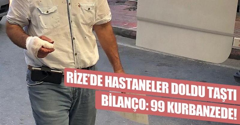 Rize'de Acemi Kasaplar Birer Birer Döküldü!