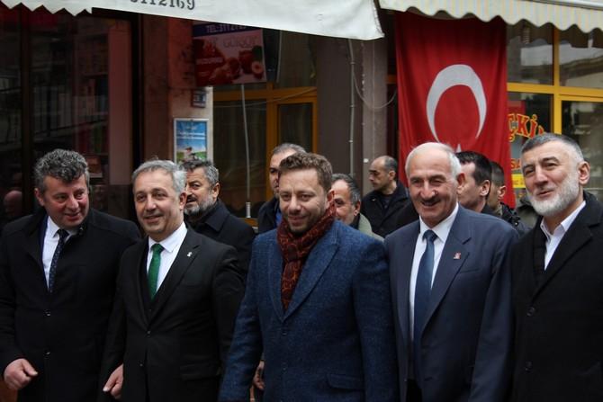 Rize'de 'Dere'ler Coştu, AK Parti'de Bütünleşti
