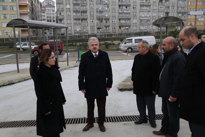 Rize'de Dolmuş Durakları 6 Şubat'ta Taşınmaya Başlayacak