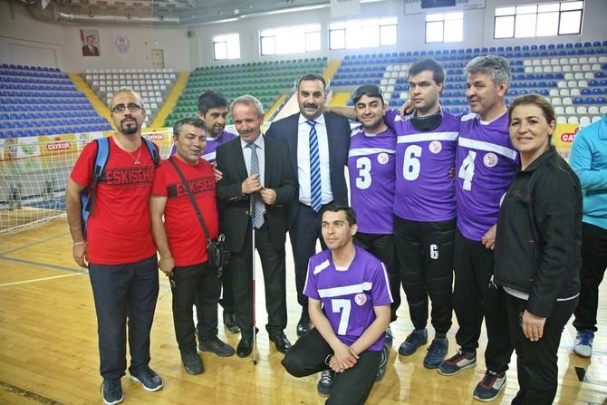 Rize'de Goalball Müsabakaları Başladı