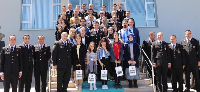 Rize'de Jandarma Teşkilatının 180. Kuruluş Yılı Etkinliklerine Ait Ödüller Verildi