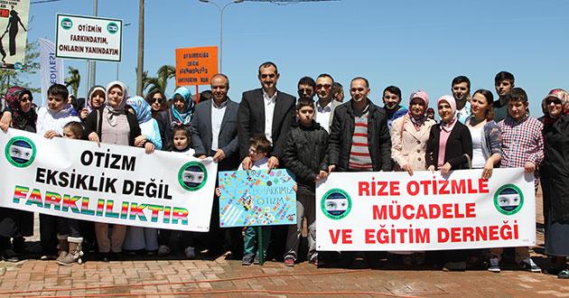 Rize'de Otizm için farkındalık yürüyüşü yapılacak