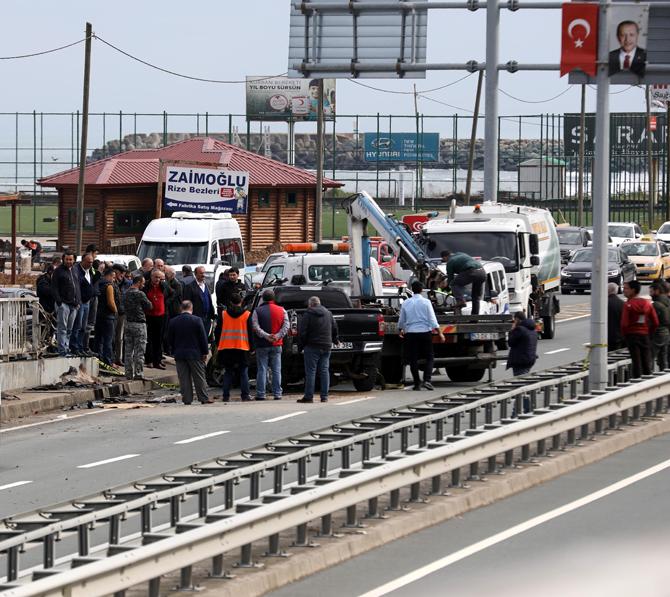 Rize'de Kaza 1 Kişi Hayatını Kaybetti