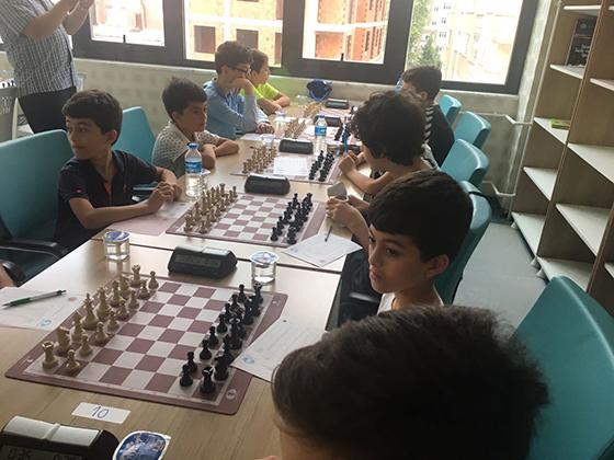 Rize'de satranç Turnuvası başladı