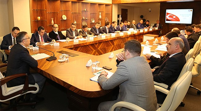 Rize'de Seçim Güvenliği Toplantısı yapıldı