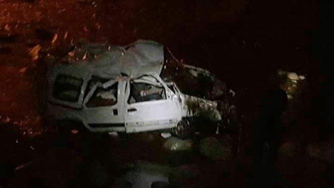 Rize'de Trafik Kazası 2 Ölü, 3 Yaralı