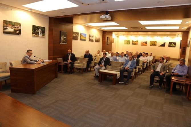 Rize'de Turizm Değerlendirme Toplantısı Düzenlendi