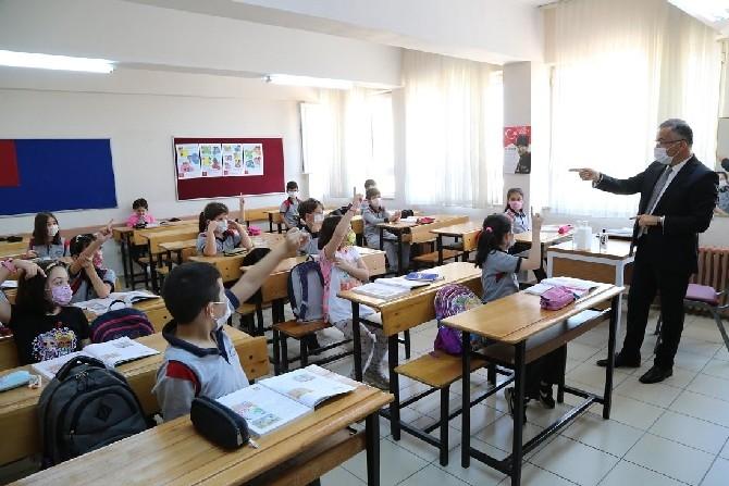Rize'de Yüz Yüze Eğitime Geçişte İkinci Aşama Başladı