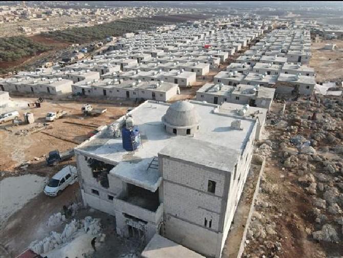 Rize'den İdlib'e 17 Adet İyilik Konutu