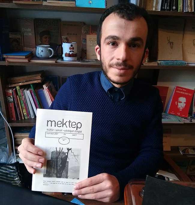 Rize'nin yeni edebiyat dergisi 'Mektep' çıktı