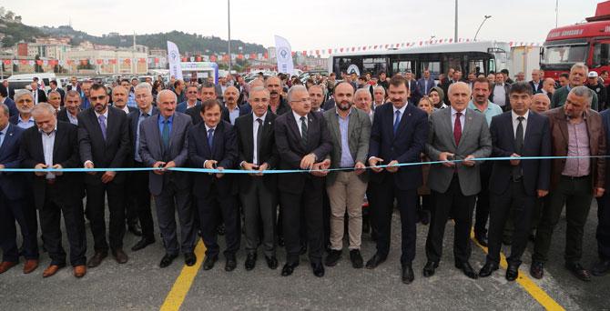 Rize'ye 700 Araçlık Sahil Otopark Projesi Resmi Törenle Açıldı