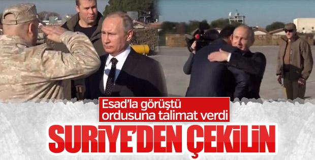 Rus ordusu Suriye'den çekiliyor