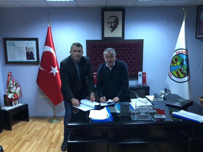 Salarha Belediye'nde Toplu İş Sözleşmesi İmzalandı