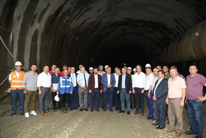 Salarha Tünelleri 2019'da Tamamlanıyor