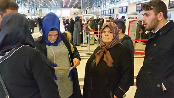 Şehit Eren Bülbül'ün annesi umreye uğurlandı