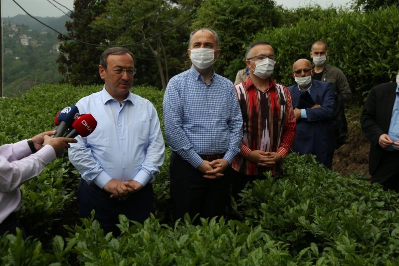 Sokağa Çıkma Yasağı Öncesi Vali Çeber ve  Belediye Başkanı Metin  Açıklamalarda bulundu