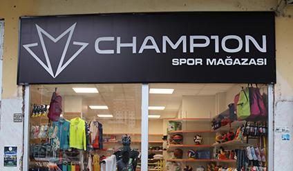 Spor Malzemelerinde Yılların Tecrübesi Champ10n