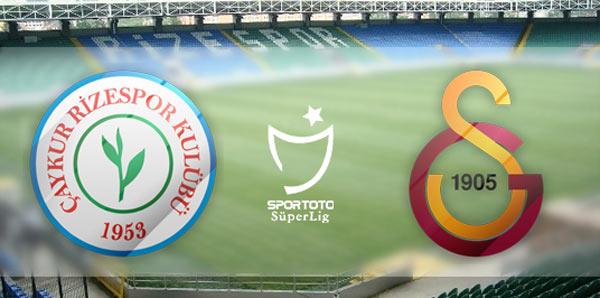 Spor Toto Süper Lig'de 32 ve 33. Hafta Programı Belli Oldu. Çaykur Rizespor - Galatasaray Maçı 11 Mayıs'ta