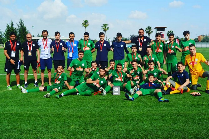 Spor Toto U15 Elit Ligi'nde Çaykur Rizespor Türkiye 3.'sü Oldu