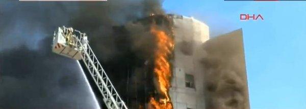 Taksim İlkyardım Hastanesi'nde yangın