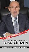 Temel Ali Uzun Rize Ziraat Odası Başkan Adaylığını Açıkladı
