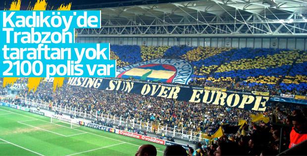 Trabzon taraftarı Kadıköy'e alınmayacak