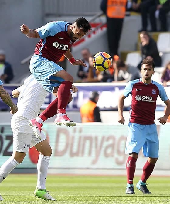 Trabzonspor, kazanmaya devam ediyor