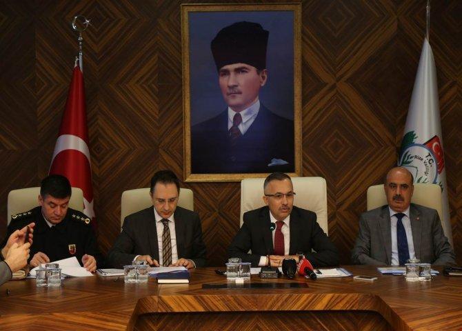Vali Çeber, Alınan Seçim Önlemlerini Açıkladı