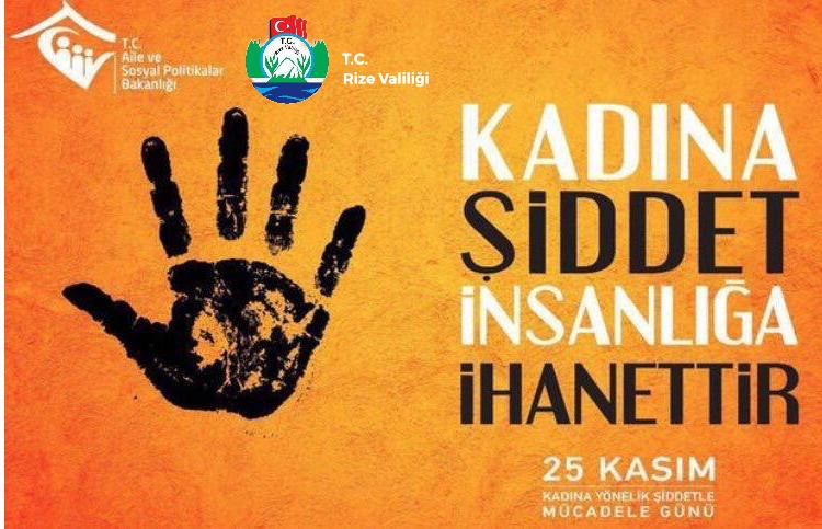 Vali Kemal Çeber' in Kadına Yönelik Şiddete Karşı Uluslararası Mücadele ve Dayanışma Günü Mesajı