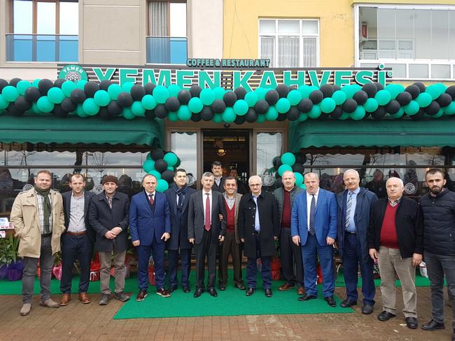 Yemen Kahvesi 130. şubesini Çayeli'nde açtı
