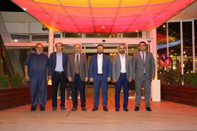 AK Parti Rize İl Başkanı Alim, Muhalefet Parti İl Başkanlarıyla Rize İçin Bir Araya Geldi