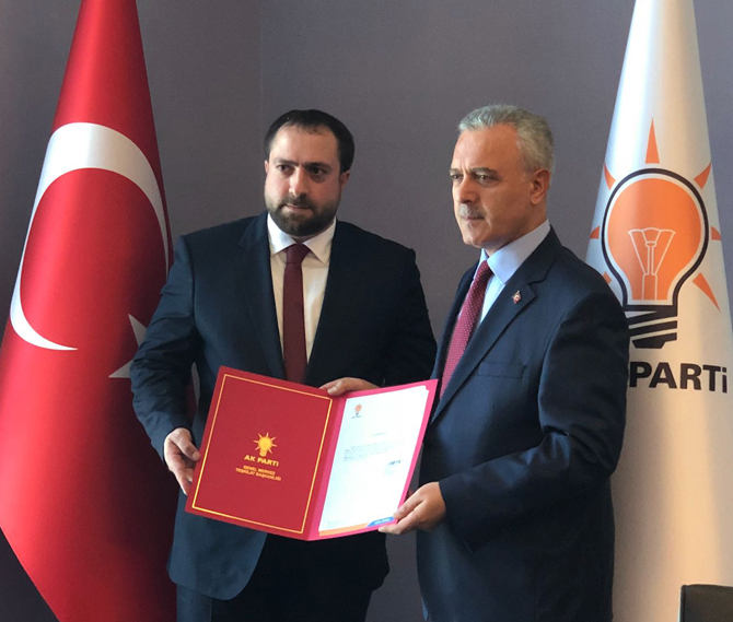 AK Parti Rize Merkez İlçe Başkanlığına Köse Atandı