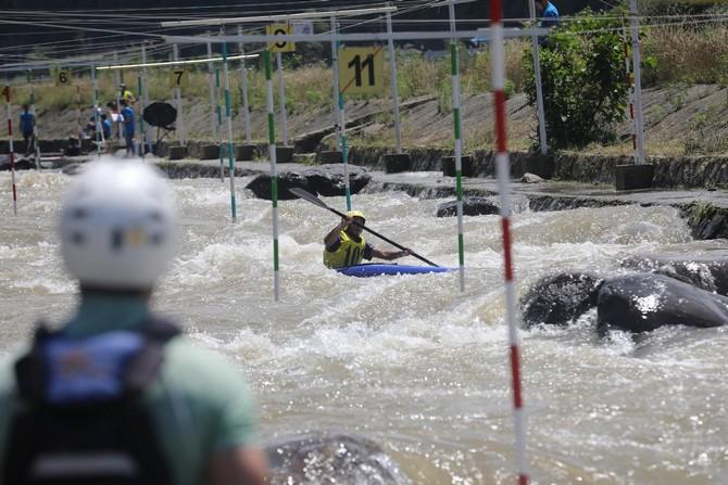 Akarsu Slalom Türkiye Kupası Rize'de Başladı