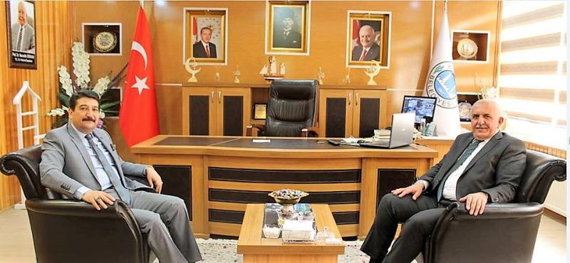 Aksoy'dan Başkan Serdar'a Ziyaret