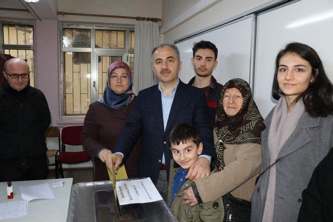 Rize Belediye Başkanı Rahmi Metin'in Annesi Vefat Etti