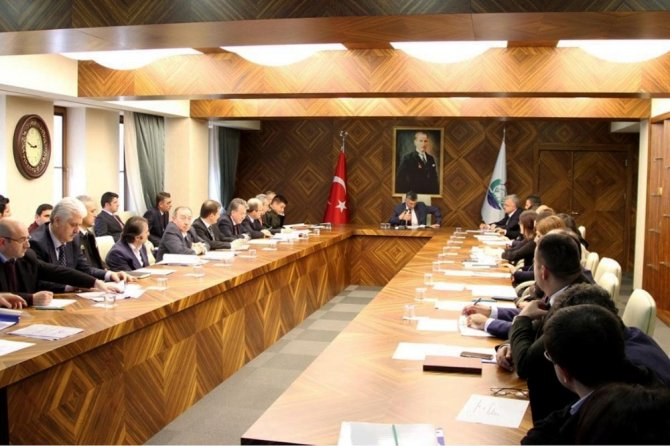 Rize'de Bağımlılıkla Mücadele İl Koordinasyon Toplantısı Yapıldı