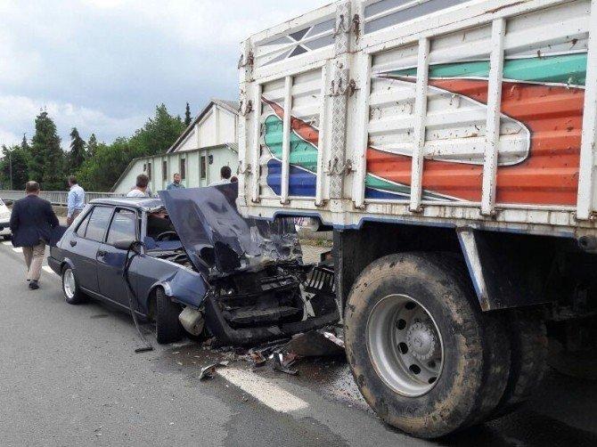 Rize'de Feci Kaza 1 Kişi Hayatını Kaybetti