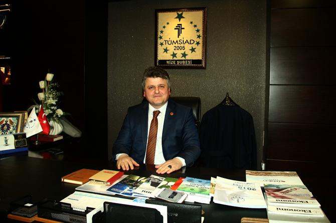 TÜMSİAD Rize Başkanı Abdulbaki FİL'den Erken seçim Açıklaması