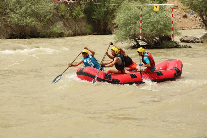 Türkiye Rafting Şampiyonası Tunceli'de Başladı