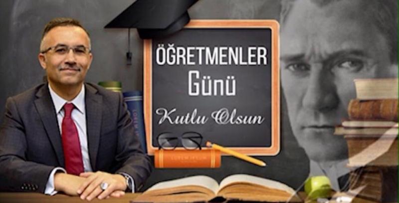 Vali Çeber 24 Kasım Öğretmenle Gününü Kutladı