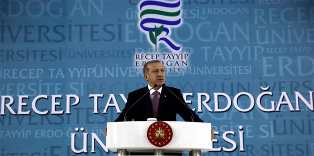Cumhurbaşkanı Erdoğan: Üniversitemizle iftihar ediyorum