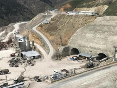 Türkiye'nin en uzun 3'ncü tünelinde son 500 metre