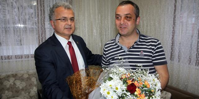 Kıran'a bir ziyaret de Başkan Kasap'tan