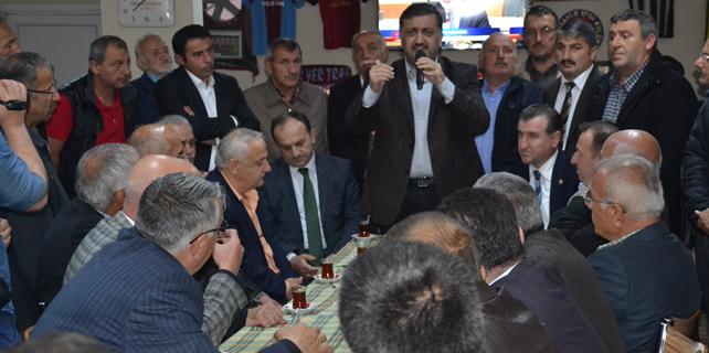Ak Parti Vekilleri teşekkür ziyaretlerini sürdürüyor