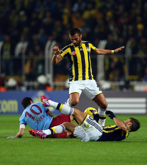 Fenerbahçe - Trabzonspor maçı / Foto Galeri