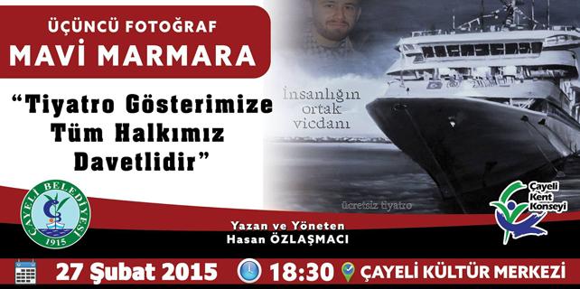 Mavi Marmara saldırısı tiyatro sahnesine taşınıyor