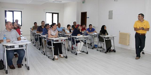 İş Güvenliği Uzman Adayları RTEÜ'de eğitim gördü
